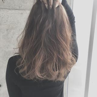 ガーリー 外国人風 アッシュ 渋谷系 ヘアスタイルや髪型の写真・画像