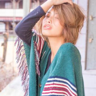 ストリート 外国人風 ショート アッシュ ヘアスタイルや髪型の写真・画像 ヘアスタイルや髪型の写真・画像