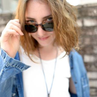 ストリート パーマ アッシュ ボブ ヘアスタイルや髪型の写真・画像