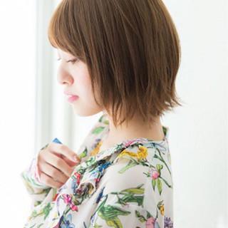 似合わせ ロブ ナチュラル 耳かけ ヘアスタイルや髪型の写真・画像 ヘアスタイルや髪型の写真・画像