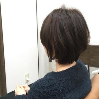 簡単 ショートボブ ショート ボブ ヘアスタイルや髪型の写真・画像 ヘアスタイルや髪型の写真・画像