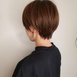 ショート ショートヘア ベリーショート ナチュラル ヘアスタイルや髪型の写真・画像