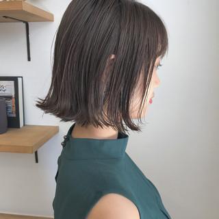 透明感 秋 外ハネ ナチュラル ヘアスタイルや髪型の写真・画像