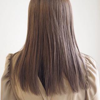 ミルクティーベージュ アッシュグレージュ ミルクティー グレージュ ヘアスタイルや髪型の写真・画像
