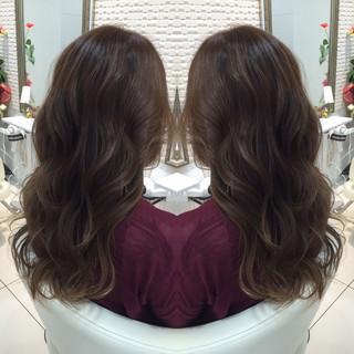コンサバ 外国人風 ブルージュ ロング ヘアスタイルや髪型の写真・画像 ヘアスタイルや髪型の写真・画像