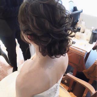 ヘアアレンジ 上品 女子力 エレガント ヘアスタイルや髪型の写真・画像