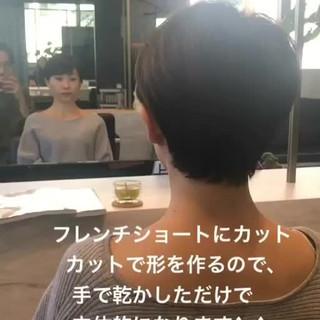 田丸麻紀 大人ショート 30代 モード ヘアスタイルや髪型の写真・画像