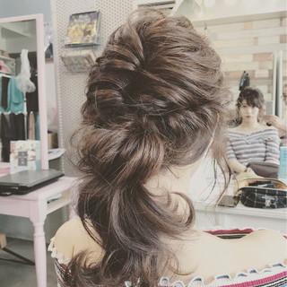 夏 結婚式 デート 簡単ヘアアレンジ ヘアスタイルや髪型の写真・画像 ヘアスタイルや髪型の写真・画像