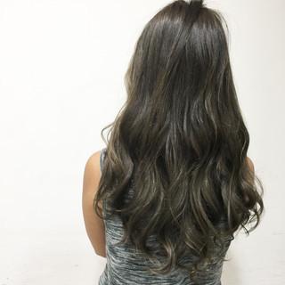 ハイライト グラデーションカラー ガーリー 渋谷系 ヘアスタイルや髪型の写真・画像
