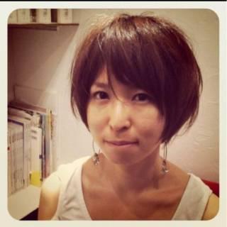 ナチュラル ショート 田中美保 外国人風 ヘアスタイルや髪型の写真・画像