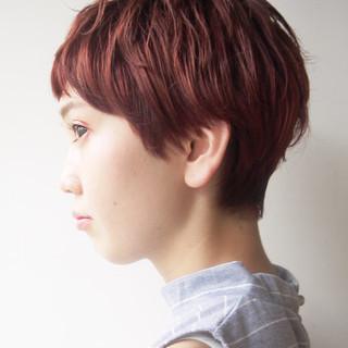 小顔 スポーツ ストリート アウトドア ヘアスタイルや髪型の写真・画像 ヘアスタイルや髪型の写真・画像
