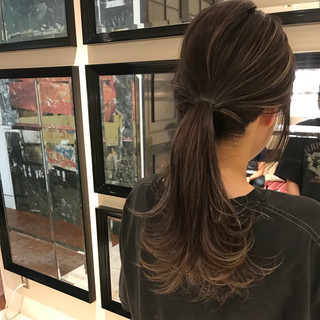 大人かわいい アウトドア ナチュラル ヘアアレンジ ヘアスタイルや髪型の写真・画像