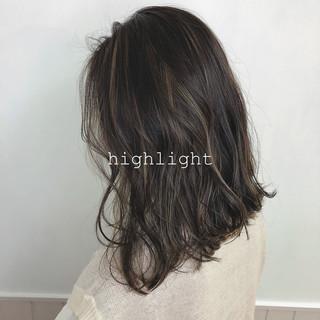 透明感カラー 外国人風カラー エレガント 3Dハイライト ヘアスタイルや髪型の写真・画像