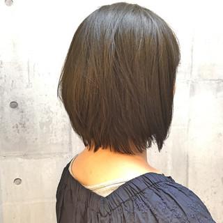 白髪染め イルミナカラー ボブ 外国人風カラー ヘアスタイルや髪型の写真・画像 ヘアスタイルや髪型の写真・画像