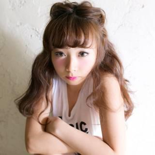 簡単ヘアアレンジ 大人かわいい ヘアアレンジ 夏 ヘアスタイルや髪型の写真・画像