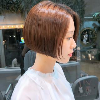 ミニボブ ショートボブ ショートヘア ボブ ヘアスタイルや髪型の写真・画像