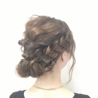フェミニン 愛され モテ髪 ヘアアレンジ ヘアスタイルや髪型の写真・画像