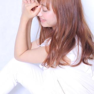 セミロング モテ髪 透明感 ミディアム ヘアスタイルや髪型の写真・画像