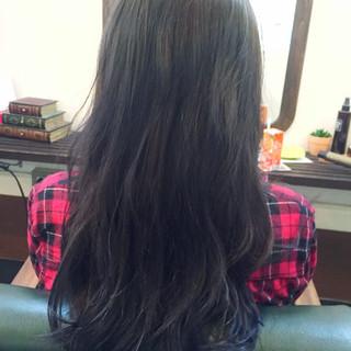 ロング ブルージュ グラデーションカラー ストリート ヘアスタイルや髪型の写真・画像 ヘアスタイルや髪型の写真・画像
