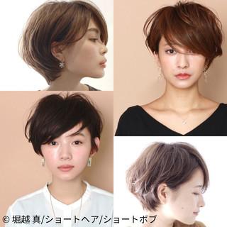大人ショート ナチュラル ふんわりショート ショート ヘアスタイルや髪型の写真・画像