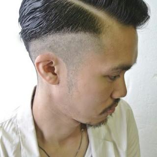 メンズ 黒髪 ボーイッシュ ショート ヘアスタイルや髪型の写真・画像 ヘアスタイルや髪型の写真・画像