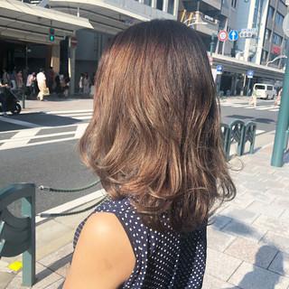 3Dハイライト ハイトーンカラー ハイトーン ハイライト ヘアスタイルや髪型の写真・画像
