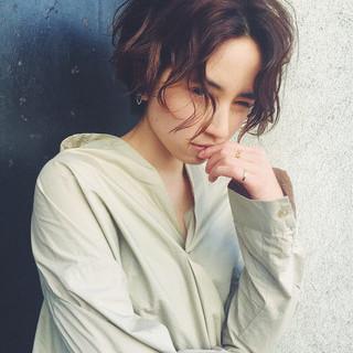 菅沼宏恵さんのヘアスナップ