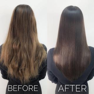 ナチュラル 髪質改善 大人ショート 髪質改善カラー ヘアスタイルや髪型の写真・画像