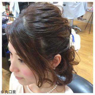 ヘアアレンジ デート 時短 結婚式 ヘアスタイルや髪型の写真・画像