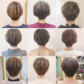 デート スポーツ ショート アウトドア ヘアスタイルや髪型の写真・画像