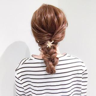 結婚式 ヘアアレンジ フェミニン ロング ヘアスタイルや髪型の写真・画像