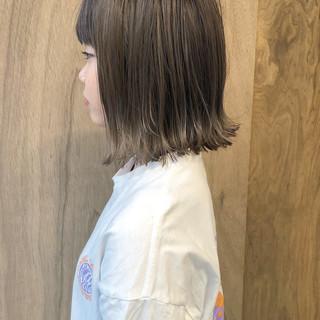 ボブ ナチュラル 外ハネボブ ミニボブ ヘアスタイルや髪型の写真・画像 ヘアスタイルや髪型の写真・画像