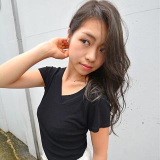 ロング 大人女子 モテ髪 外国人風 ヘアスタイルや髪型の写真・画像
