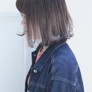 オルチャン イルミナカラー ハイライト デート ヘアスタイルや髪型の写真・画像