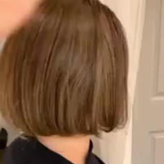 ミニボブ ボブ ゆるふわ モード ヘアスタイルや髪型の写真・画像