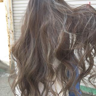 ドライフラワー ハイライト 上品 エレガント ヘアスタイルや髪型の写真・画像