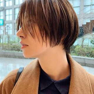 グラボブ ボブ 阿藤俊也 ナチュラル ヘアスタイルや髪型の写真・画像