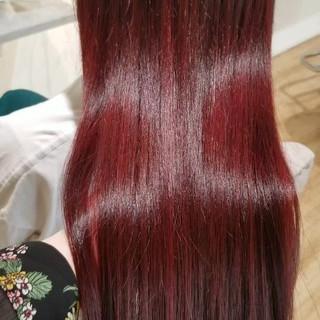 TOKIOトリートメント 髪質改善トリートメント ピンク 艶髪 ヘアスタイルや髪型の写真・画像