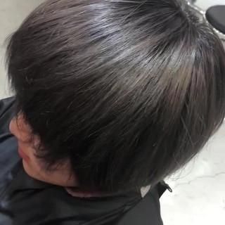大人かわいい 涼しげ グレージュ 夏 ヘアスタイルや髪型の写真・画像 ヘアスタイルや髪型の写真・画像