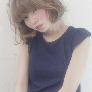 ピュア 大人かわいい ガーリー ゆるふわ ヘアスタイルや髪型の写真・画像