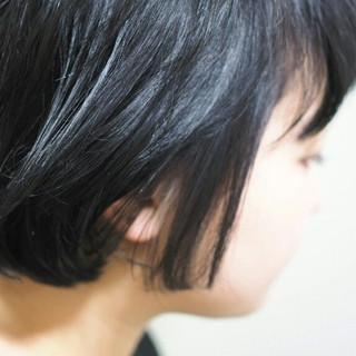 暗髪 黒髪 ストリート マッシュ ヘアスタイルや髪型の写真・画像