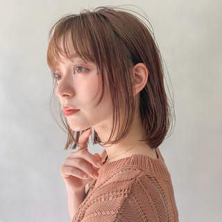 レイヤーカット アンニュイほつれヘア 前髪あり デジタルパーマ ヘアスタイルや髪型の写真・画像
