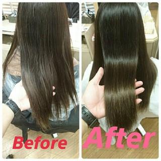 パーマ 大人かわいい フェミニン 縮毛矯正 ヘアスタイルや髪型の写真・画像 ヘアスタイルや髪型の写真・画像
