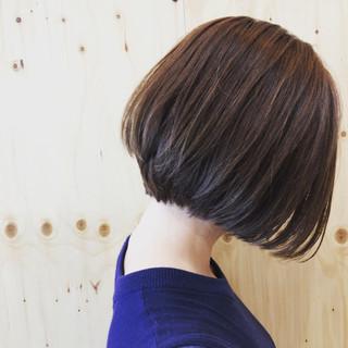 大人女子 オフィス ラフ ボブ ヘアスタイルや髪型の写真・画像