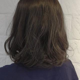 かわいい 透明感 ボブ ナチュラル ヘアスタイルや髪型の写真・画像