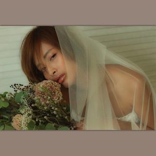 ヘアアレンジ 外国人風 結婚式 モード ヘアスタイルや髪型の写真・画像 ヘアスタイルや髪型の写真・画像