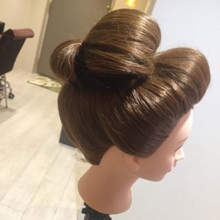 和装 ロング 和服 成人式 ヘアスタイルや髪型の写真・画像 ヘアスタイルや髪型の写真・画像