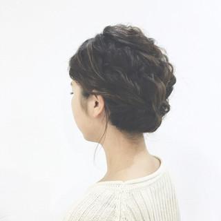 ヘアアレンジ ボブ フィッシュボーン 簡単ヘアアレンジ ヘアスタイルや髪型の写真・画像 ヘアスタイルや髪型の写真・画像