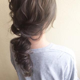 ロング 女子力 大人かわいい フェミニン ヘアスタイルや髪型の写真・画像