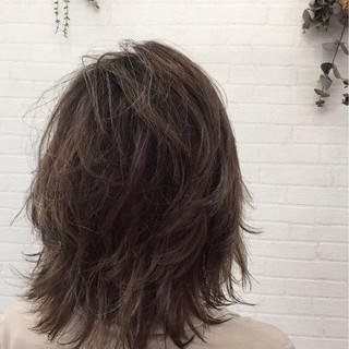 色気 簡単ヘアアレンジ ミディアム ナチュラル ヘアスタイルや髪型の写真・画像